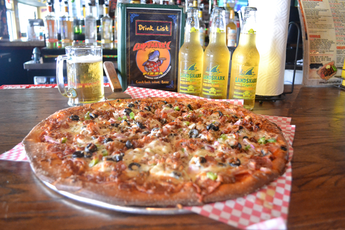 Voted BEST PIZZA IN DESTIN FL 2016 Landsharks Pizza Company