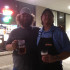 landsharks pizza ghost chili hot wing challenge winner neil and owner brian