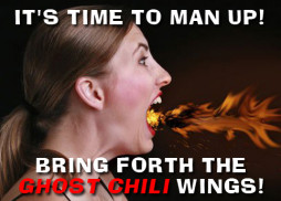 july 19th ghost chili hot wing eating contest at landsharks pizza destin fl