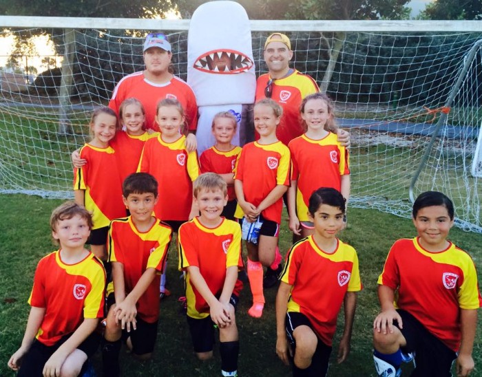 best destin fl pizza - landsharks pizza soccer team