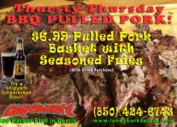 Destin BBQ Landsharks Thursty Thursday