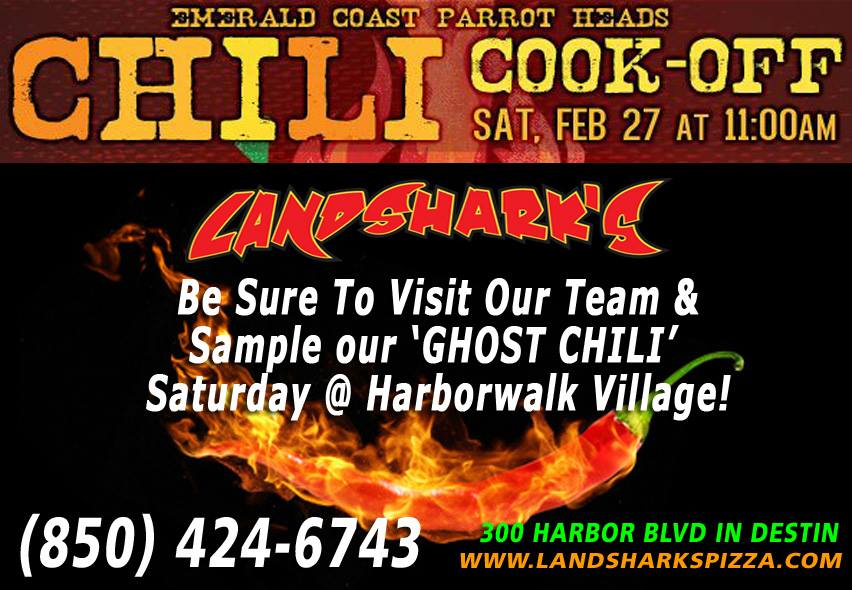 Landsharks at the Harborwalk Village Chili Cook Off 2016