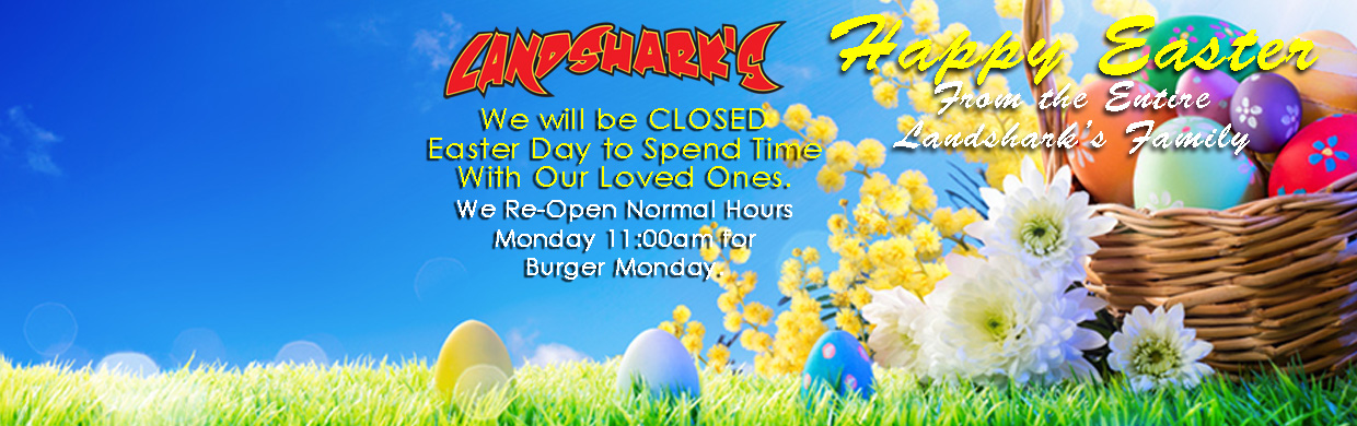 Happy Easter from Destin FL Landsharks Pizza Company