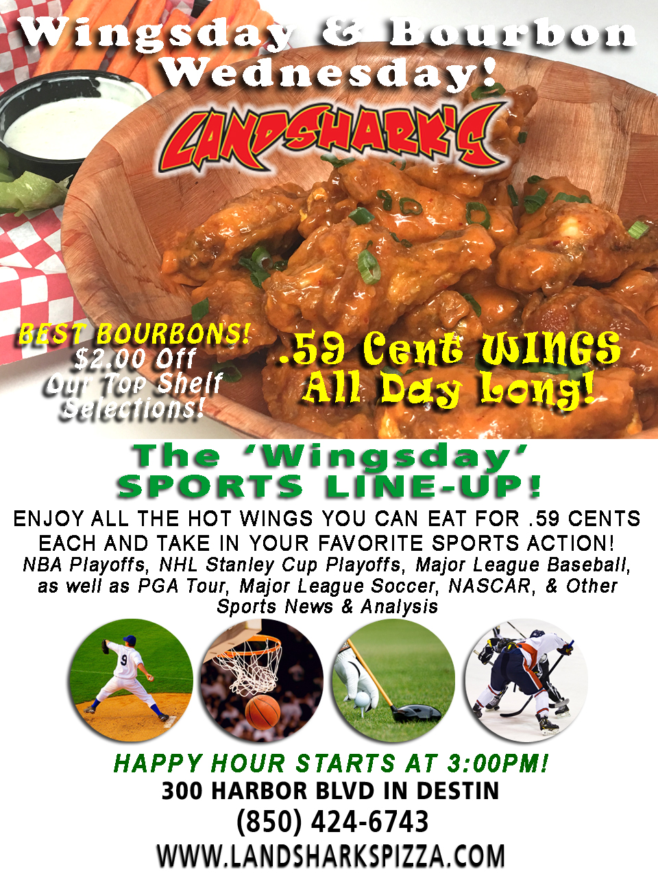 Best Buffalo Hot Wings in Destin FL Wingsday