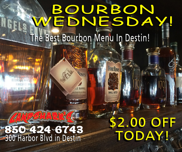Destin FL Bourbon Club Landsharks Pizza Bar Sports Restaurant
