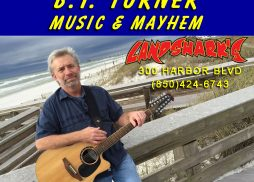 Destin FL Live Music at Landsharks with BT Turner Music and Mayhem