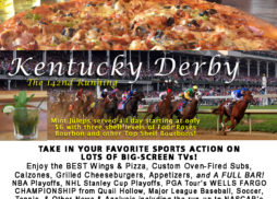 Destin FL Kentucky Derby Saturday at Landsharks with Mint Juleps on Sale