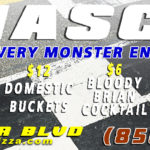 OUR NASCAR MONSTER ENTER CUP RACE SPECIALS!