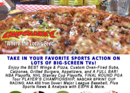 Sports Destin FL Sunday Line-up Landsharks Pizza