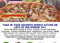 Sunday Sports Action in Destin FL at Landsharks Pizza Company