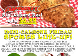 Best Calzone in Destin FL at Landsharks Friday Special