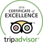 Destin FL Landsharks Pizza TripAdvisor Certificate of Excellence 2016
