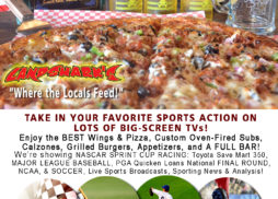 Destin FL Sports Bar Restaurant Big Screens Landsharks Pizza