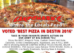Destin FL Sports TV Big Screens Landsharks Pizza Co