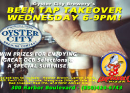Destin FL Beer Tap Takeover at Landshark's Pizza