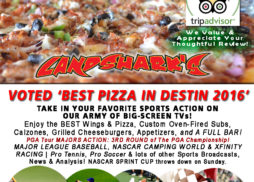 Destin FL Sports Bar TVs Landsharks Pizza