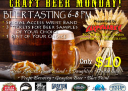 Destin FL Craft Beer Mondays at Landsharks Sports Restaurant July 2016