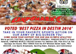 Super Saturday of Sports TV in Destin at Landsharks Pizza Co