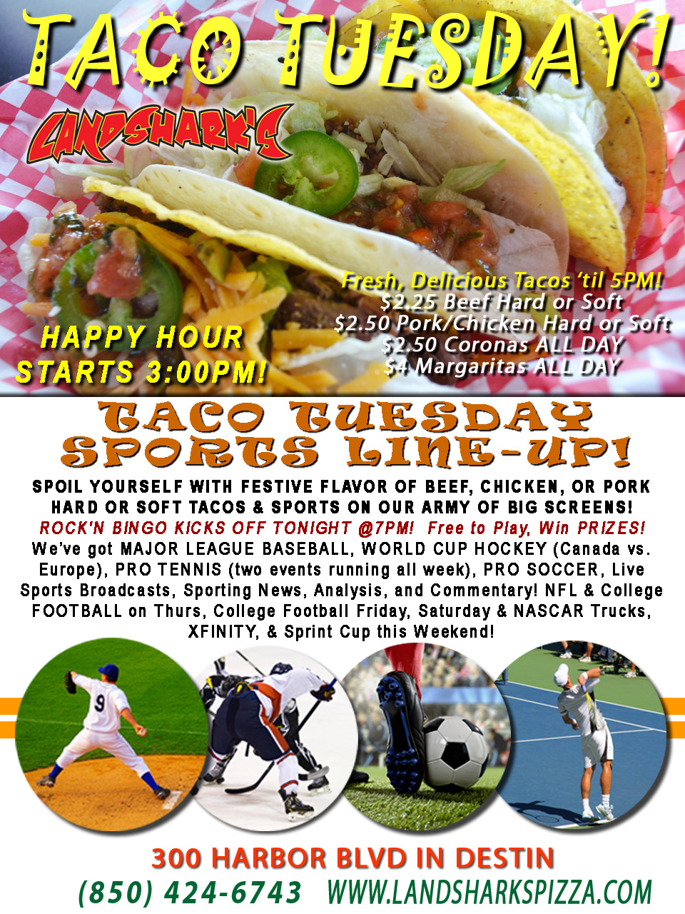 destin-fl-taco-tuesday-landsharks-coronas-margarita-specials-09-27-16