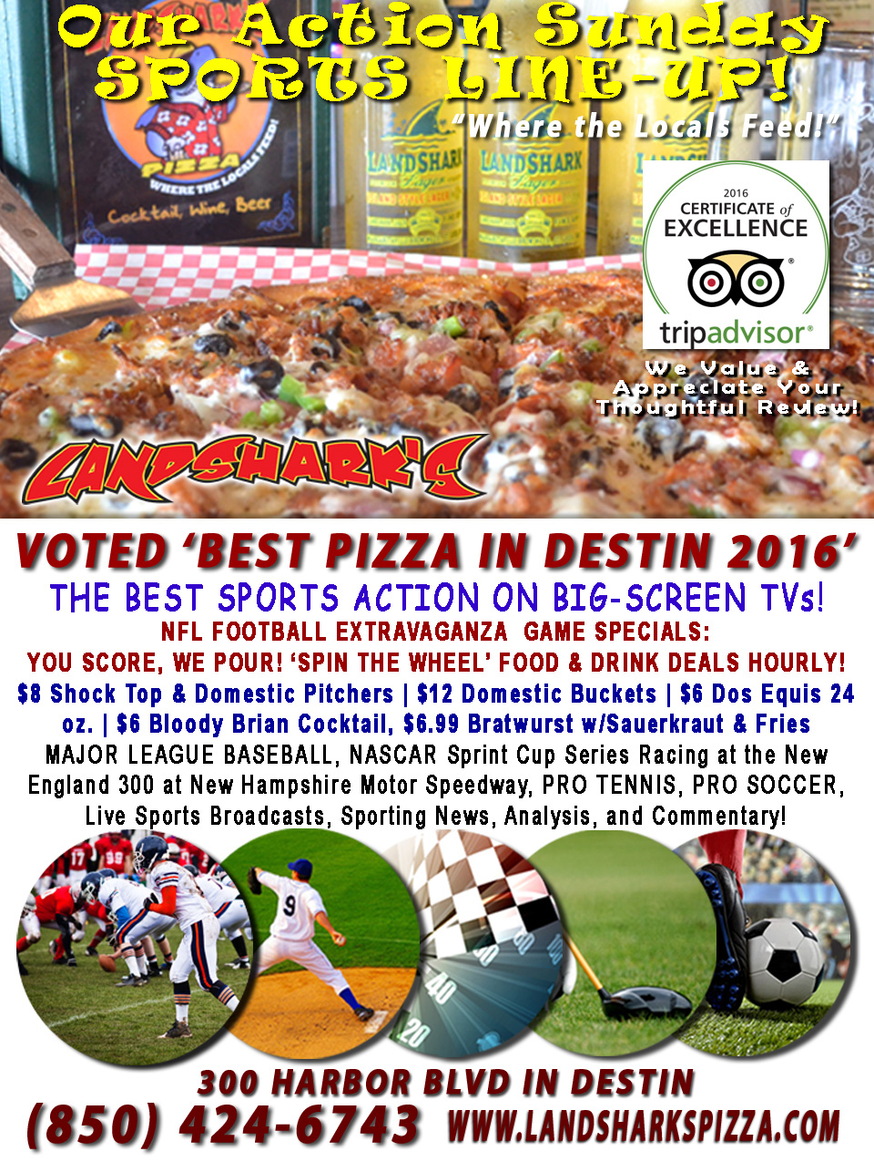 destin-nfl-football-at-landsharks-pizza-food-and-drink-specials-weekly-09-25-16