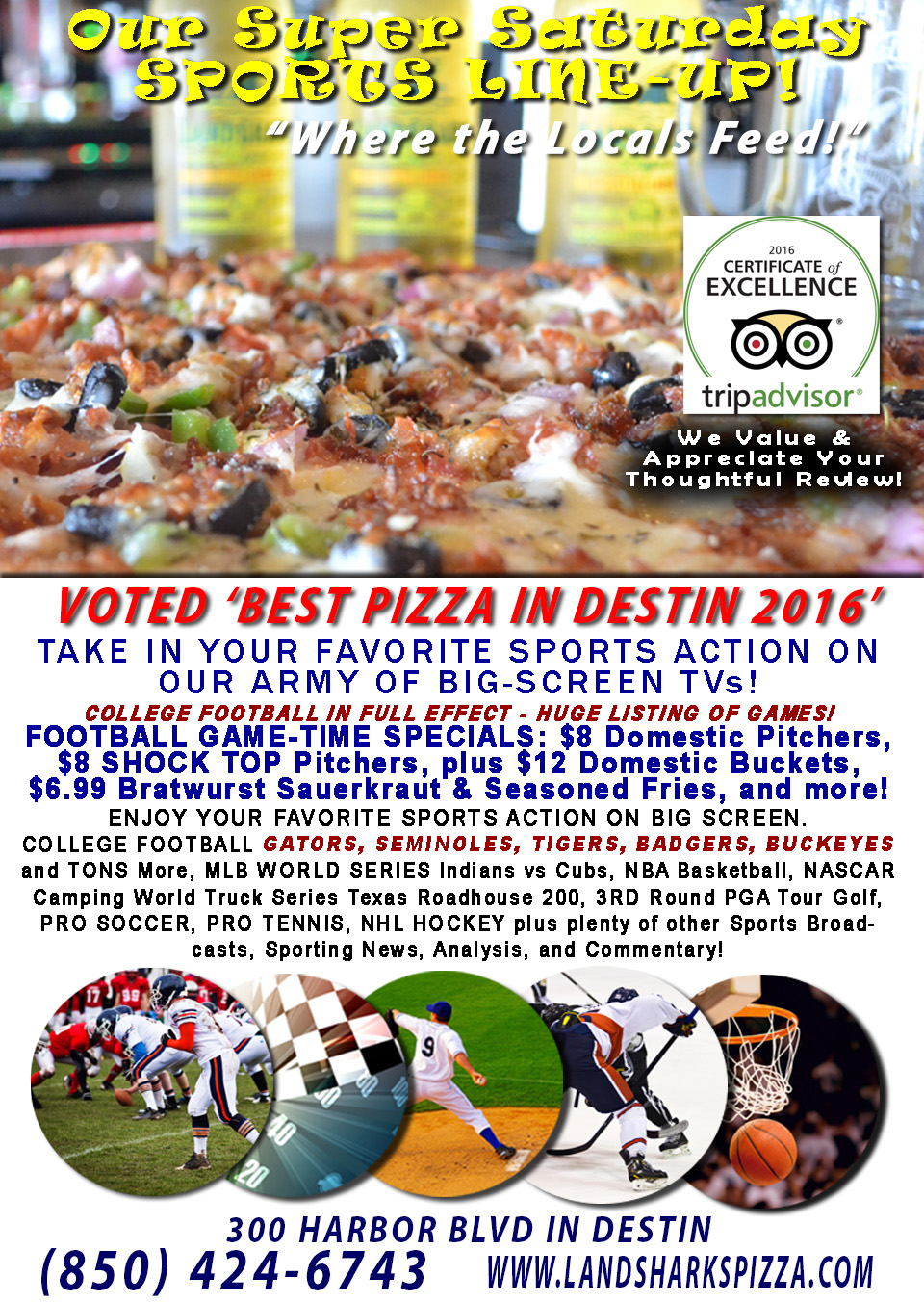destin-fl-sports-bar-landsharks-pizza-college-football-saturdays-10-29-16a