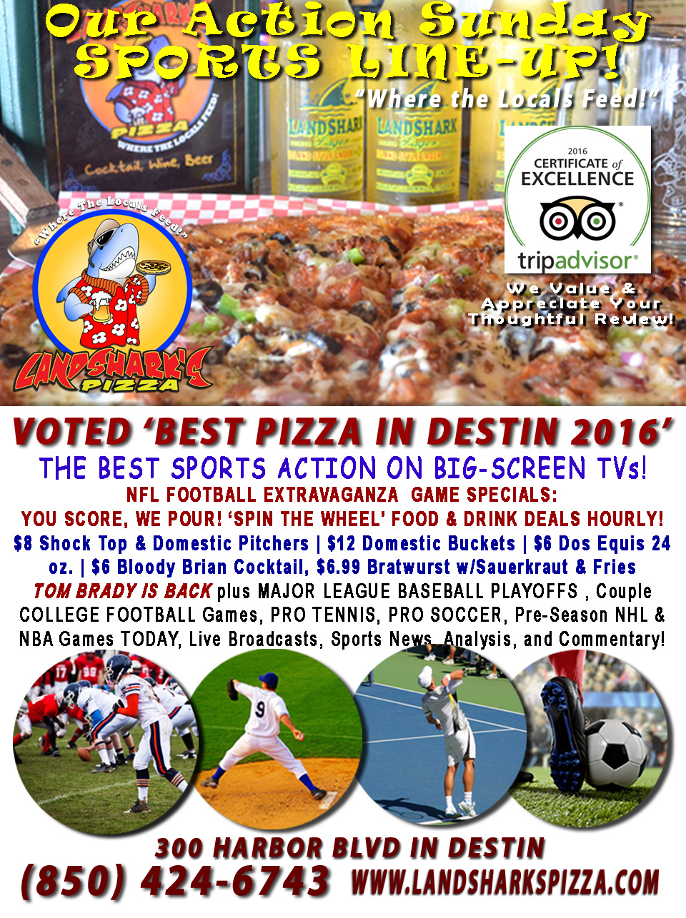 destin-nfl-football-at-landsharks-pizza-food-and-drink-specials-weekly-10-09-16