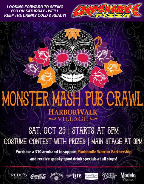 landsharks-pizza-destin-fl-monster-mash-pub-crawl-october-2016
