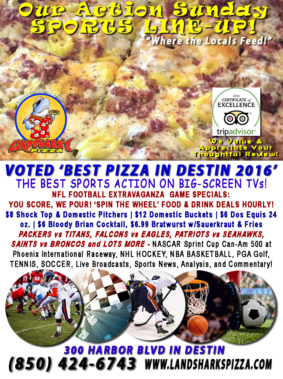 destin-fl-nfl-football-sunday-landsharks-pizza-hourly-specials-11-13-16a