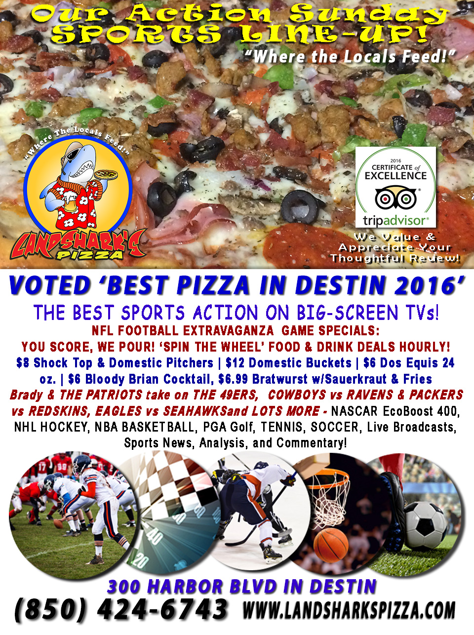 destin-fl-sports-bar-nfl-football-sunday-landsharks-pizza-hourly-specials-11-20-16a