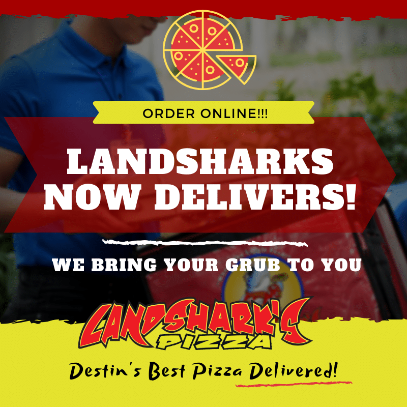 landsharks delivers graphic