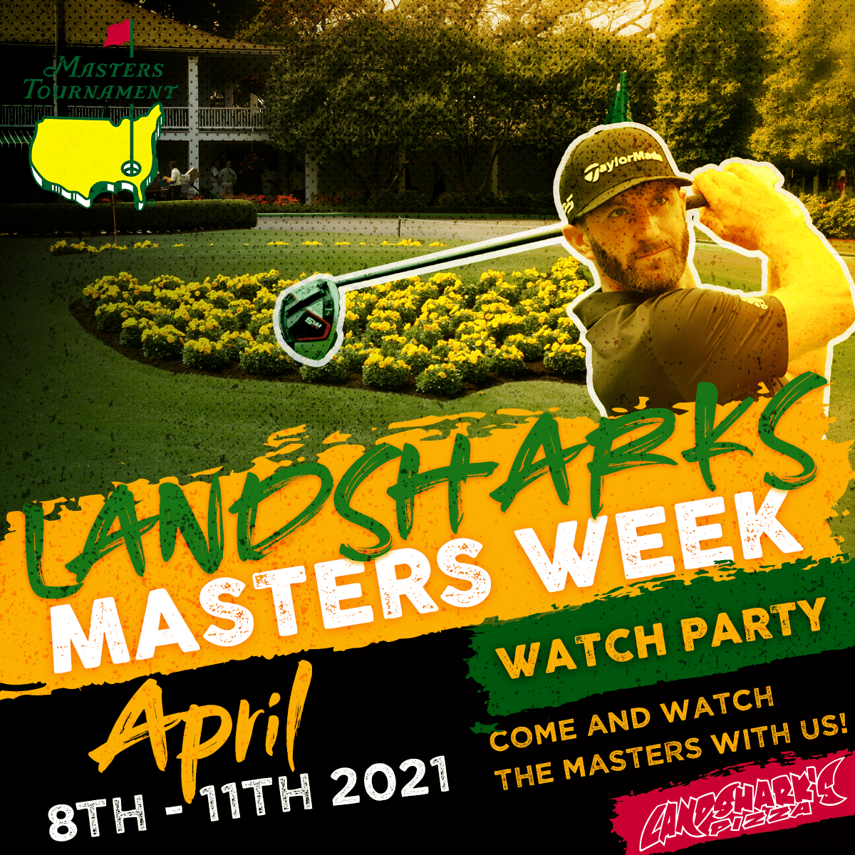 The Masters 2021 Landsharks Pizza