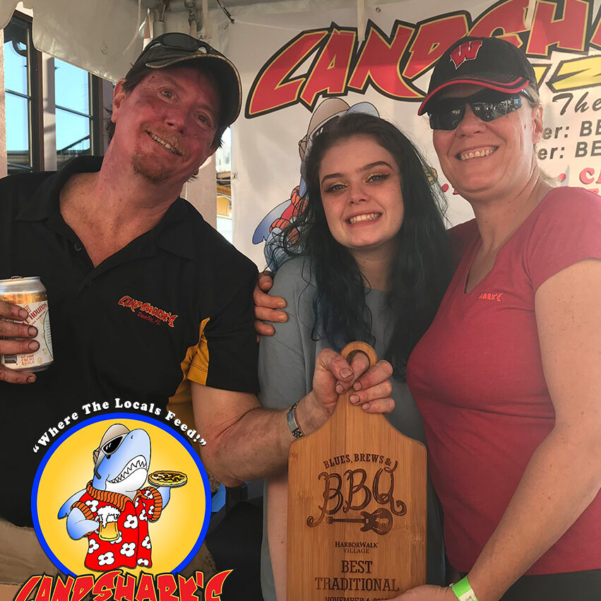 2017 Destin FL Blues Brews BBQ BEST TRADITIONAL Barbecue Winner Landsharks Pizza Co