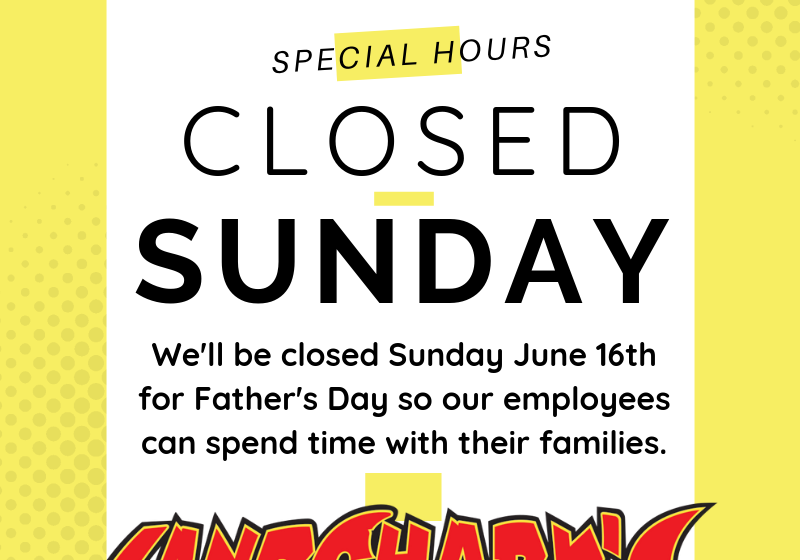 father's Day Special Hours